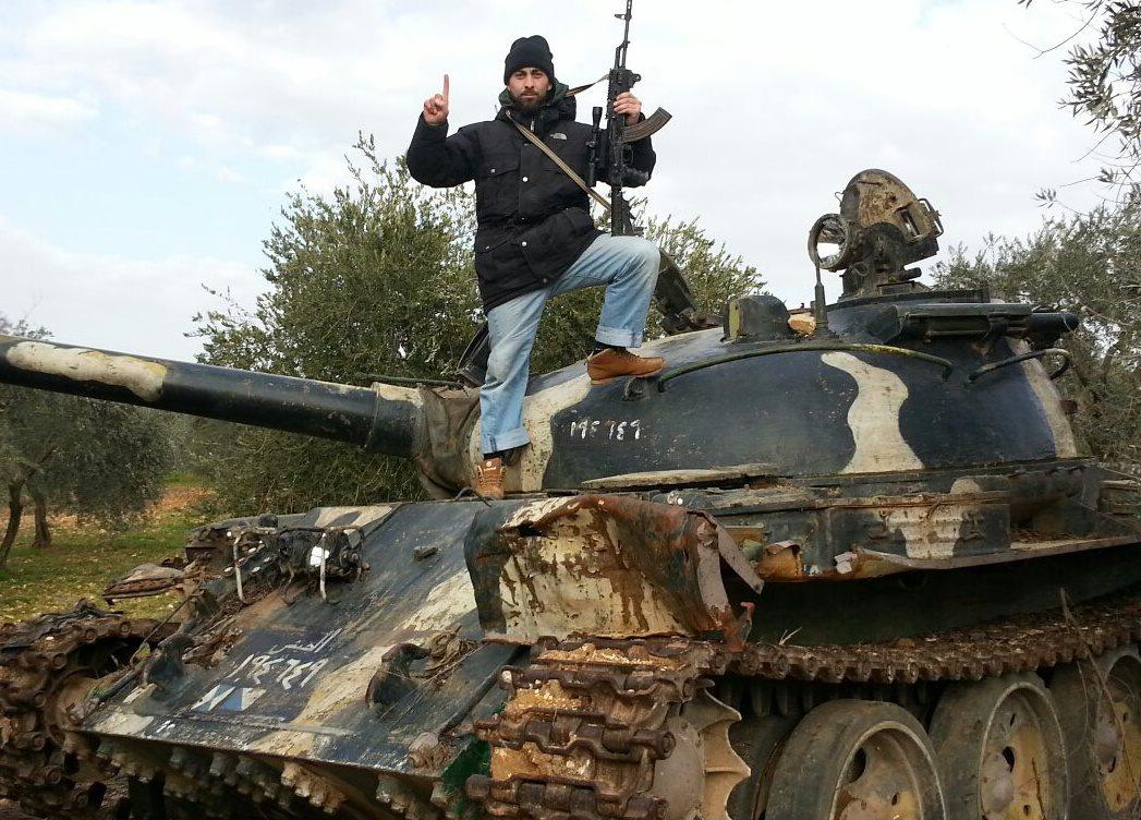 Ozgür Deveci i Syrien (2013).