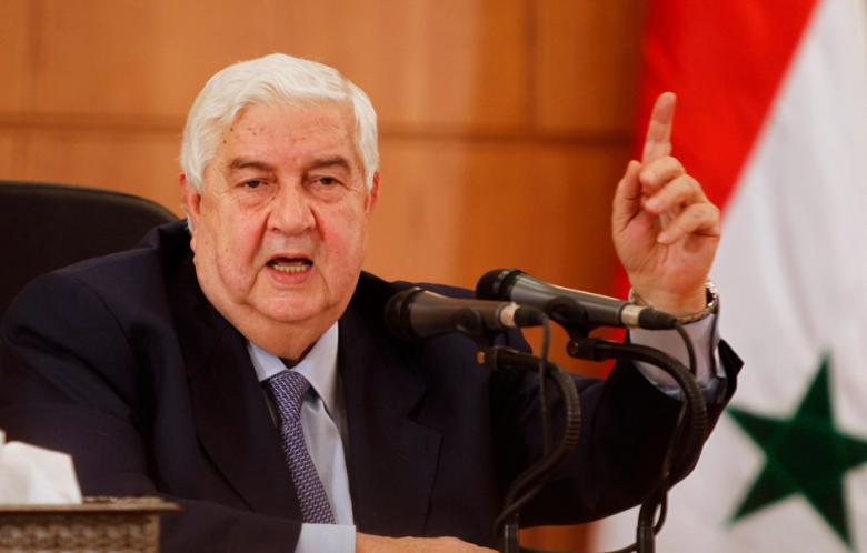 Udenrigsminister Walid Moualem