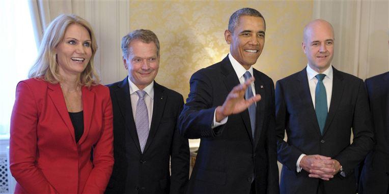 Helle Thorning Obama