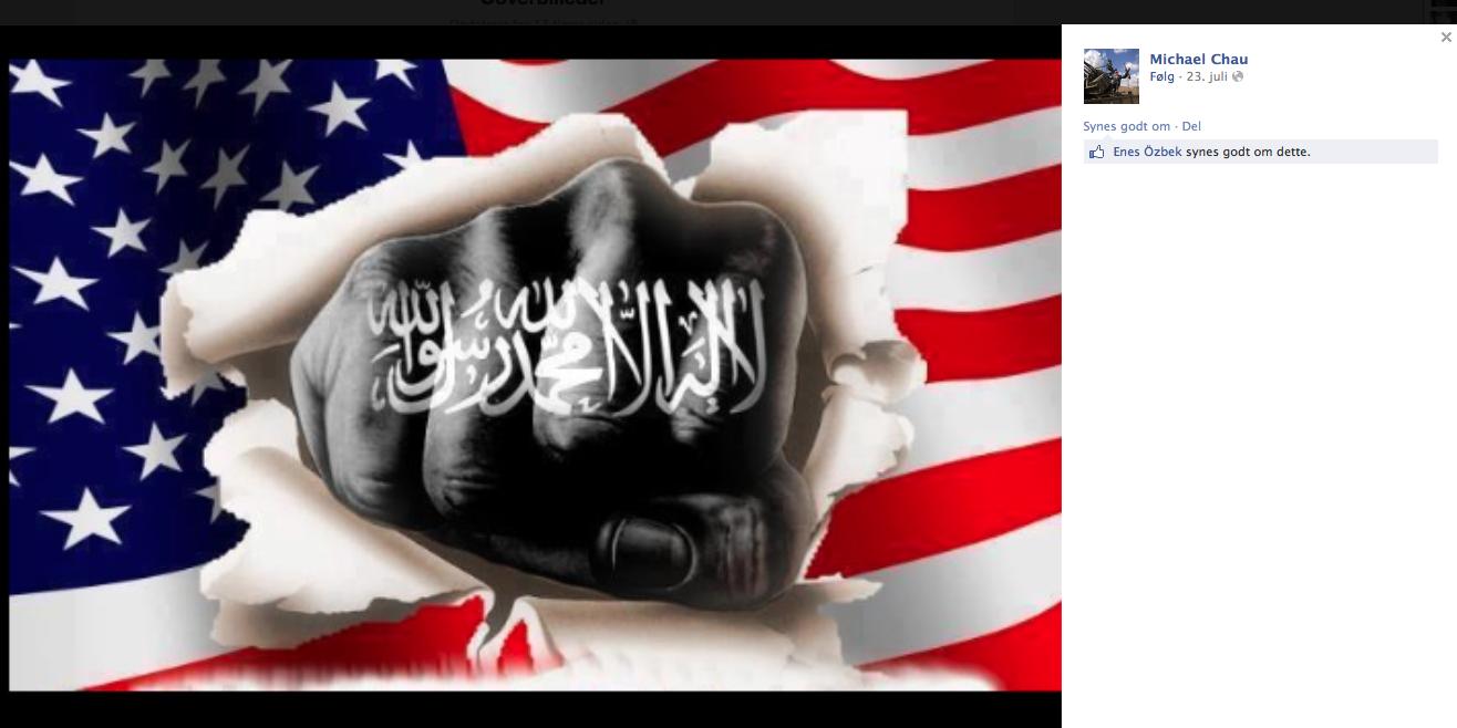 Kalifatet skal selvfølgelig også omfatte USA - Michael Chaus hovedsponsor næst efter Villy Søvndal og de danske skatteydere.