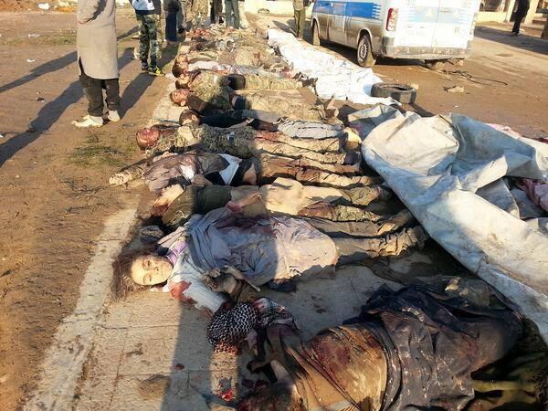 Den anden sides ofre; Civile kurdere slagtet af islamistiske terrorister i Tel Hamees.