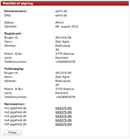 Et simpelt opslag i DK-Hostmasters offentlige database afslører bagmanden.