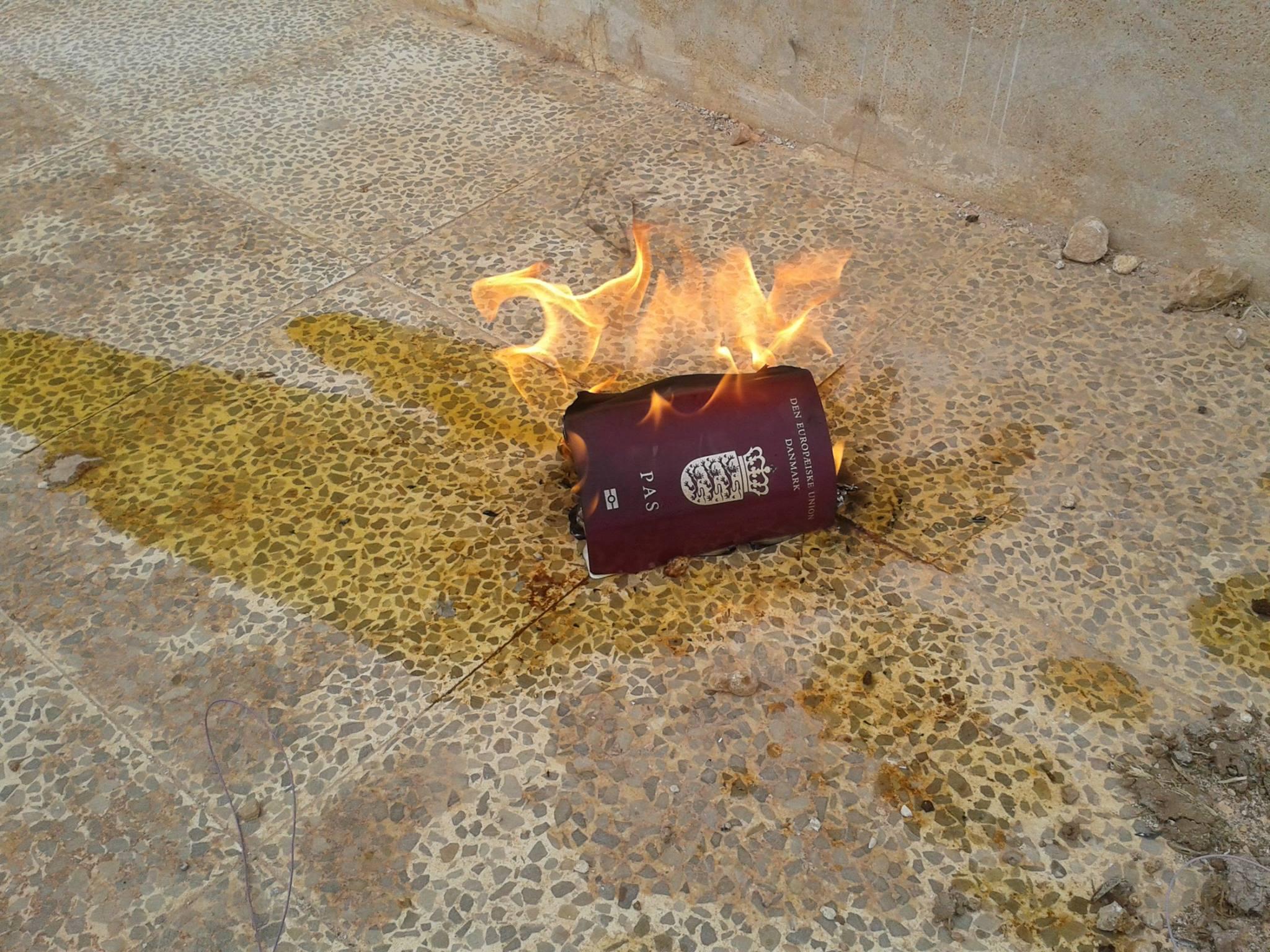 Ahmad Hallaks pas blev brændt i maj 2014 for at sikre, at han kæmpede til døden.