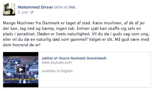 (Facebook, 2. juli 2013)
