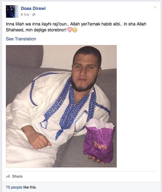 (Facebook, 3. august 2015)