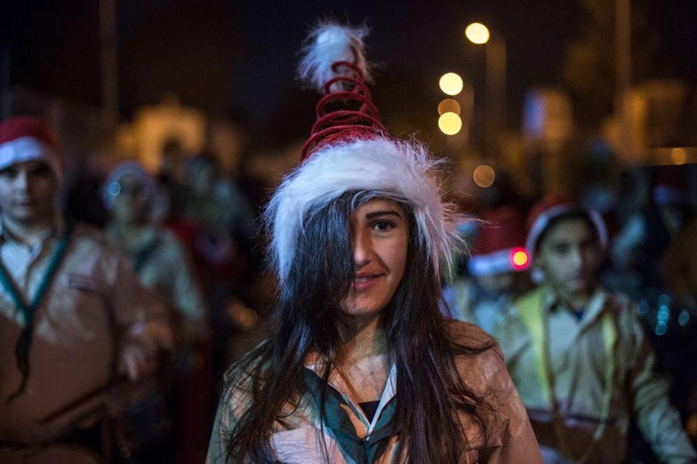 Juleaften 2015 i Damaskus.