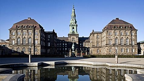 Den amerikanske koloni-administration i København.