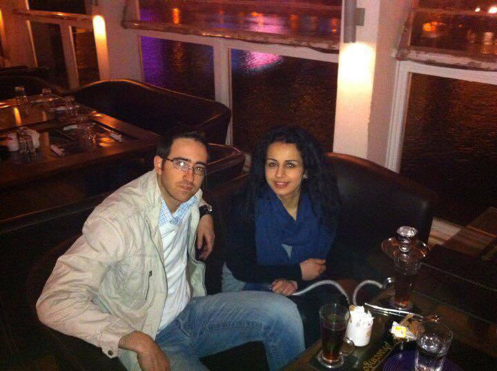 Mounim Korchi og Haifaa Awad.